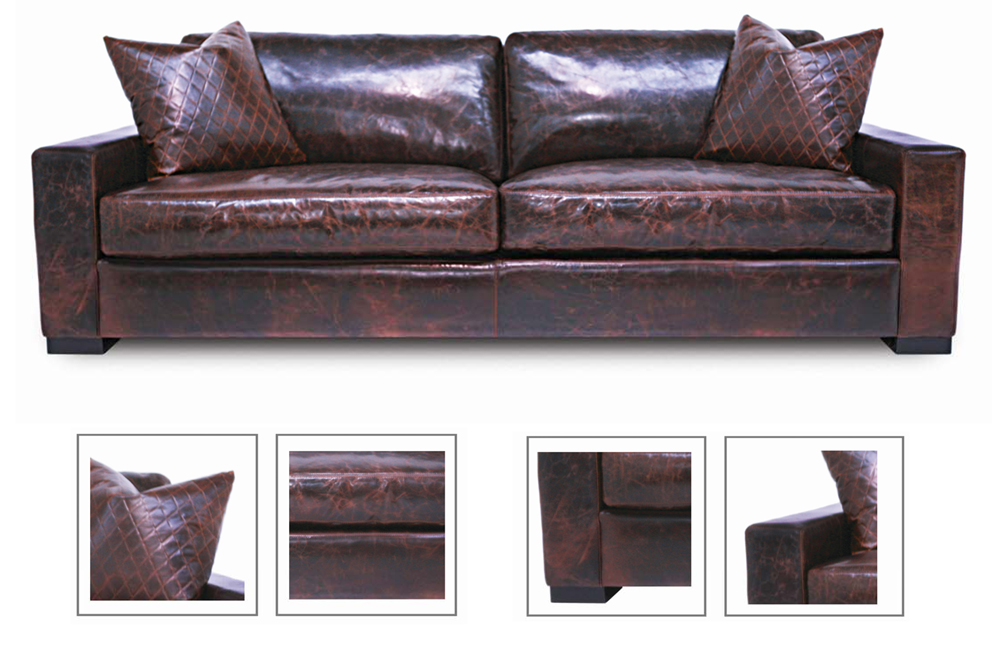 Deep Leather Sofa Unbelievable Deep Leather Sofa Pictures
