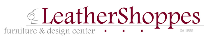 LeatherShoppes Store Logo. Leather Furniture ...