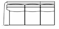 laf sofa line drawing