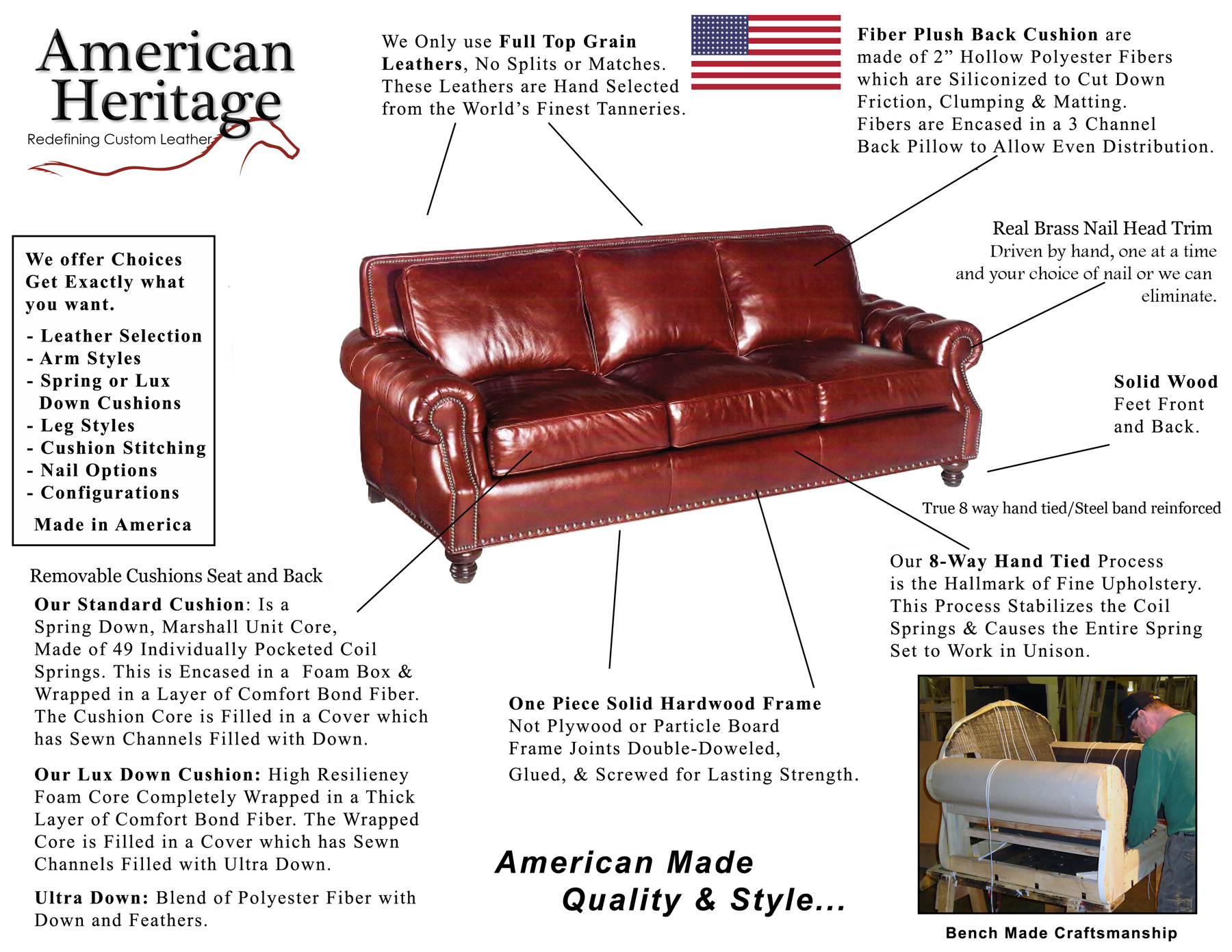 American Heritage Construction ( Click To Enlarge). Made In America
