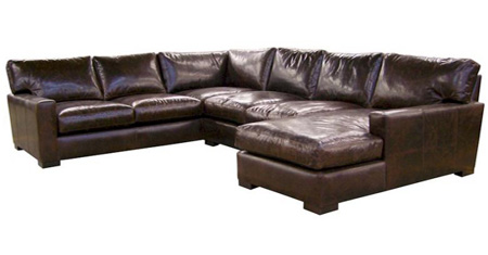 American heritage leather furniture made in usa for Buy sofa online usa