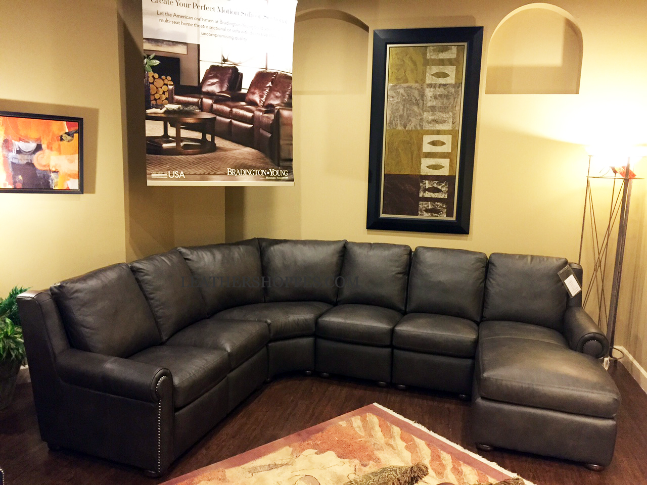 ... Whitaker Sectional Recliner ...