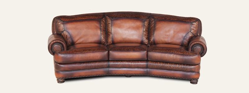 Elegant Eleanor Rigby Leather Sofas