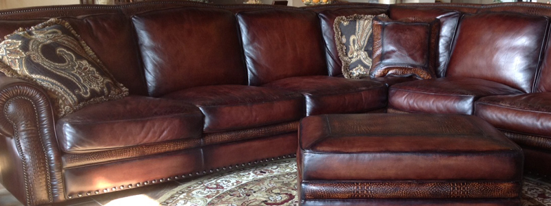 Eleanor Rigby Leather Sectionals